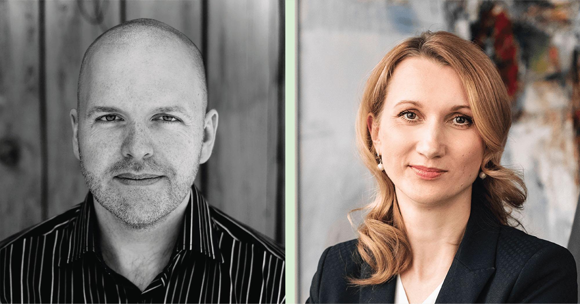 Moterys investuotojos Orion Julius Tilvikas ir Kristina Pyplienė